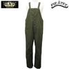 BLACK SIGN Old German Cord Cloth Button Fly Apron Overalls OLIVE BSFP-17509B画像