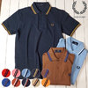 FRED PERRY TWIN TIPPED FRED PERRY SHIRT M12N画像
