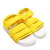adidas Originals ADILETTE SANDAL 2.0 W Yellow/Running White CQ2673画像