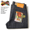 """Naked & Famous Street Fighter II BLANKA """"Electric Surge"""" Selvedge Easy Guy Fit BLA050706画像"""