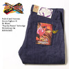 """Naked & Famous Street Fighter II M. Bison """"Psycho Power"""" Selvedge Weird Guy Fit MBI165603画像"""
