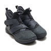 NIKE LEBRON SOLDIER XII SFG EP ANTHRACITE/ANTHRACITE-BLACK AO4055-002画像