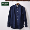 James Mortimer REGULAR COLLAR SHIRTS COMFORT FIT NAVY画像