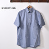 INDIVIDUALIZED SHIRTS S/S CLASSIC FIT BD SHIRT PULLOVER CHAMBRAY BLUE画像