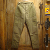"""FREEWHEELERS UNION SPECIAL OVERALLS """"Deck Trousers"""" Vintage Military Back Satin 1822002画像"""