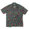 BURGUS PLUS S/S Open Collar Shirts Flower Pattern BP17503-4画像