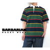 BARBARIAN Rugby Shirts Short Sleeve GCSS 8oz Light Weight Cotton画像
