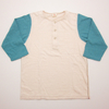 Two Moon California Cotton Slub Jersey Cloth 7/10 Sleeve Tee Shirt 20224画像