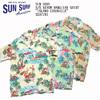 "SUN SURF S/S RAYON HAWAIIAN SHIRT ""ISLAND CHRONICLE"" SS37781画像"