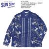 """SUN SURF L/S RAYON HAWAIIAN SHIRT """"THE LIGHTHOUSE"""" Limited Edition SS37791HYLS画像"""