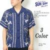"""SUN SURF S/S RAYON HAWAIIAN SHIRT """"THE LIGHTHOUSE"""" SS37791画像"""