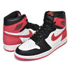 "NIKE AIR JORDAN 1 RETRO HIGH OG ""SIX CHAMPIONSHIPS """"BEST HAND IN THE GAME"" summit white/track red-black 555088-112画像"