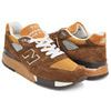 new balance M998CJ6 ''DEATH VALLEY'' BROWN画像