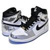 NIKE AIR JORDAN 1 RETRO HI THINK 16 chrome/black-white-turbo green AQ7476-016画像