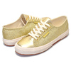 SUPERGA 2750 MICRO GLITTER ORANGE GOLD S00BF50-174画像