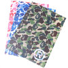 A BATHING APE ABC CAMO CLEAR FILE SET 1E20-182-163画像