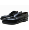 ALDEN 2211 CORDOVAN NORWEGIAN FRONT BLUCHER OXFORD BLACK MADE IN USA画像