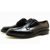 ALDEN 990 CORDOVAN PLAIN TOE BLUCHER OXFORD DARK BURGUNDY MADE IN USA画像