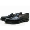 ALDEN 987 CORDOVAN LEISURE HANDSEWN MOCCASIN BLACK MADE IN USA画像