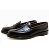 ALDEN 986 CORDOVAN LEISURE HANDSEWN MOCCASIN DARK BURGUNDY MADE IN USA画像