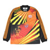 adidas NAKEL JERSEY BLACK / YELLOW / BORANG / RED CE1833画像