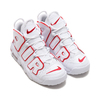 NIKE AIR MORE UPTEMPO (GS) WHITE/VARSITY RED-WHITE 415082-108画像