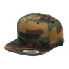"MACKDADDY LOGO SNAPBACK CAP ""SECOND"" WOODLAND CAMO/black MDAC-2010-2-WC画像"