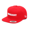 "MACKDADDY LOGO SNAPBACK CAP ""SECOND"" RED/white MDAC-2010-2-RW画像"