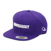 "MACKDADDY LOGO SNAPBACK CAP ""SECOND"" PURPLR/white MDAC-2010-2-PW画像"