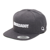"MACKDADDY LOGO SNAPBACK CAP ""SECOND"" DARK HEATHER/white MDAC-2010-2-HW画像"