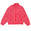 Supreme Bandana Track Jacket RED画像