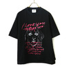 TODAY edition drawing tee pink画像