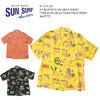 """SUN SURF S/S RAYON HAWAIIAN SHIRT """"THE HAWAIIAN GOOD OLD TIMES"""" SS37775画像"""
