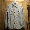 FREEWHEELERS NEAL Cotton/Linen Indigo Small Check 1823014画像