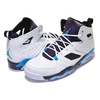NIKE JORDAN FLIGHT CLUB 91 white/blue lagoon-grand purple 555475-105画像