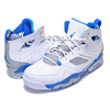NIKE JORDAN FLIGHT CLUB 91 white/photo blue-wolf grey 555475-104画像