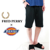 FRED PERRY × Dickies #4471 Jersey Wide Shorts画像