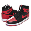 NIKE AIR JORDAN 1 RETRO HIGH OG NRG''HOMAGE TO HOME'' BLACK / UNIVERSITY RED - WHITE 861428-061画像
