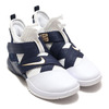 NIKE LEBRON SOLDIER XII SFG EP WHITE/WHITE-MIDNIGHT NAVY-MINERAL YELLOW AO4055-100画像