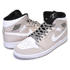 NIKE AIR JORDAN 1 MID desert sand/white-black 554724-047画像