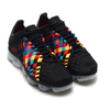 NIKE AIR VAPORMAX INNEVA BLACK/BLACK-GLACIER BLUE-LASER ORANGE AO2447-001画像