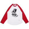 Supreme Lion Raglan Baseball Top RED画像