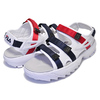 FILA DISRUPTOR SD SANDAL white/navy-red FS1SPA2003X-WNR画像