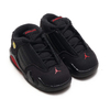 NIKE JORDAN 14 RETRO BT BLACK/VARSITY RED-METALLIC SILVER 312093-003画像