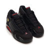 NIKE JORDAN 14 RETRO BP BLACK/VARSITY RED-METALLIC SILVER 312092-003画像