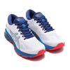 asics GEL-KAYANO 25 WHITE/BLUE PRINT 1011A019-100画像