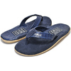 ISLAND SLIPPER TWO TONE SUEDE THONG IRIS BARC / NAVY SUED PT205画像