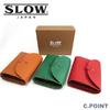 SLOW #333S71G flap Short Wallet toscana Leather画像