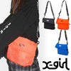 X-girl LOGO TAPE SHOULDER BAG 5174044画像