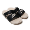NIKE WMNS BENASSI DUO ULTRA SLIDE BLACK/GUAVA ICE-GUAVA ICE 819717-004画像